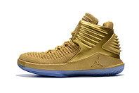 """Баскетбольные кроссовки Air Jordan XXXII (32) """"Metallic Gold"""" (40-46), фото 3"""