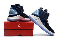 """Баскетбольные кроссовки Air Jordan XXXII (32) """"Deep Blue/White"""" (40-46), фото 5"""