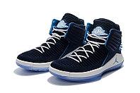 """Баскетбольные кроссовки Air Jordan XXXII (32) """"Deep Blue/White"""" (40-46), фото 2"""
