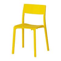 Стул ЯН-ИНГЕ желтый ИКЕА, IKEA, фото 1