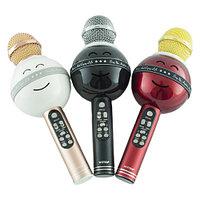 Беспроводной микрофон караоке с колонками
