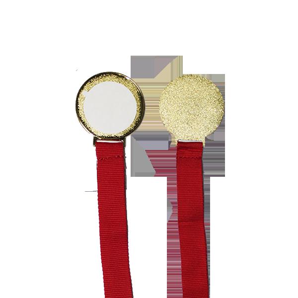 Медаль металлическая Золото в коробочке