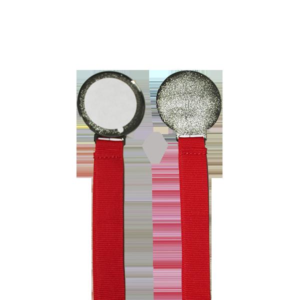 Медаль металлическая Серебро в коробочке