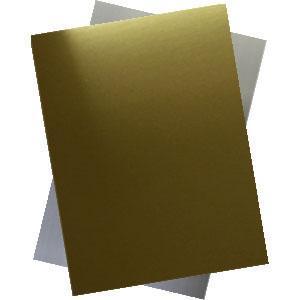 Металлическая пластина 30*60 золото,серебро