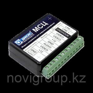 Даксис МСЦ - Модуль сопряжения индивидуального домофона с многоквартирным цифровым домофоном