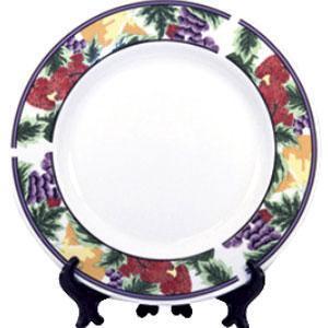 Тарелка керамическая Клубничка