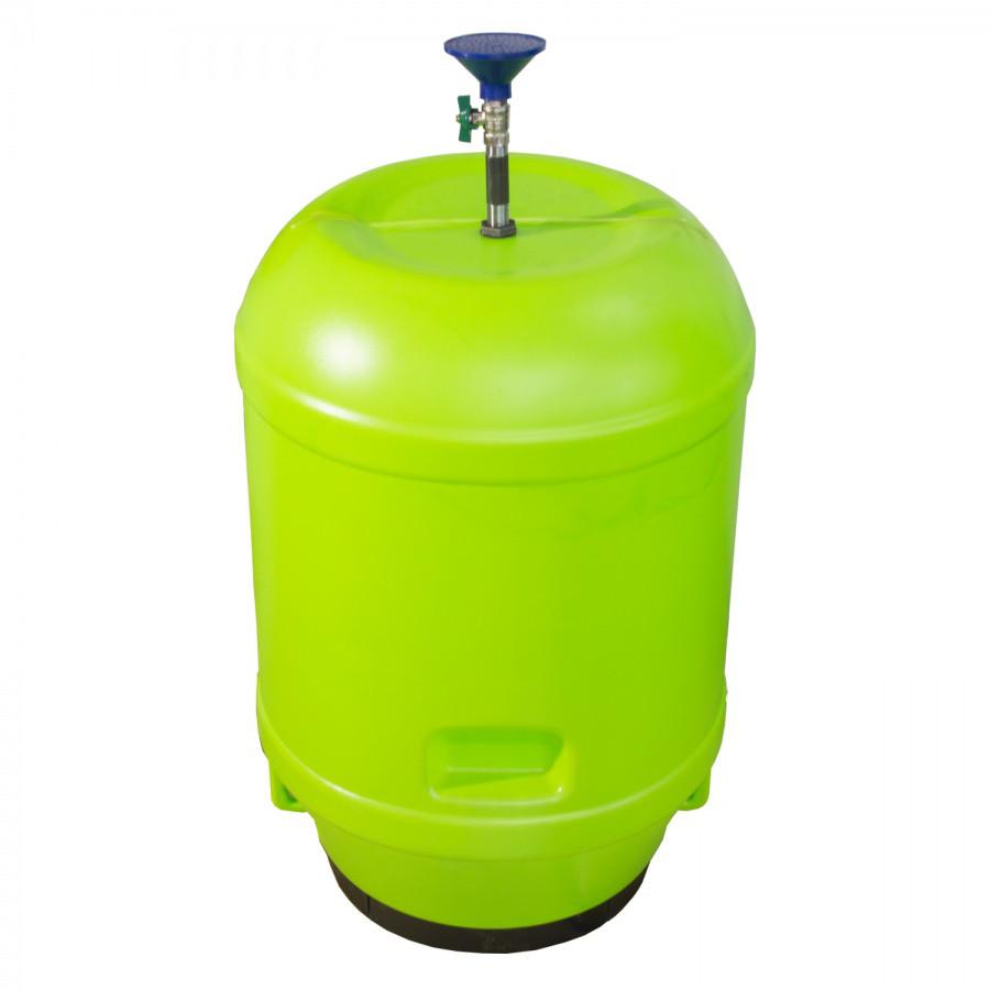 Бак для воды с кранчиком 120 л из пластика, Зета,  ZETA,