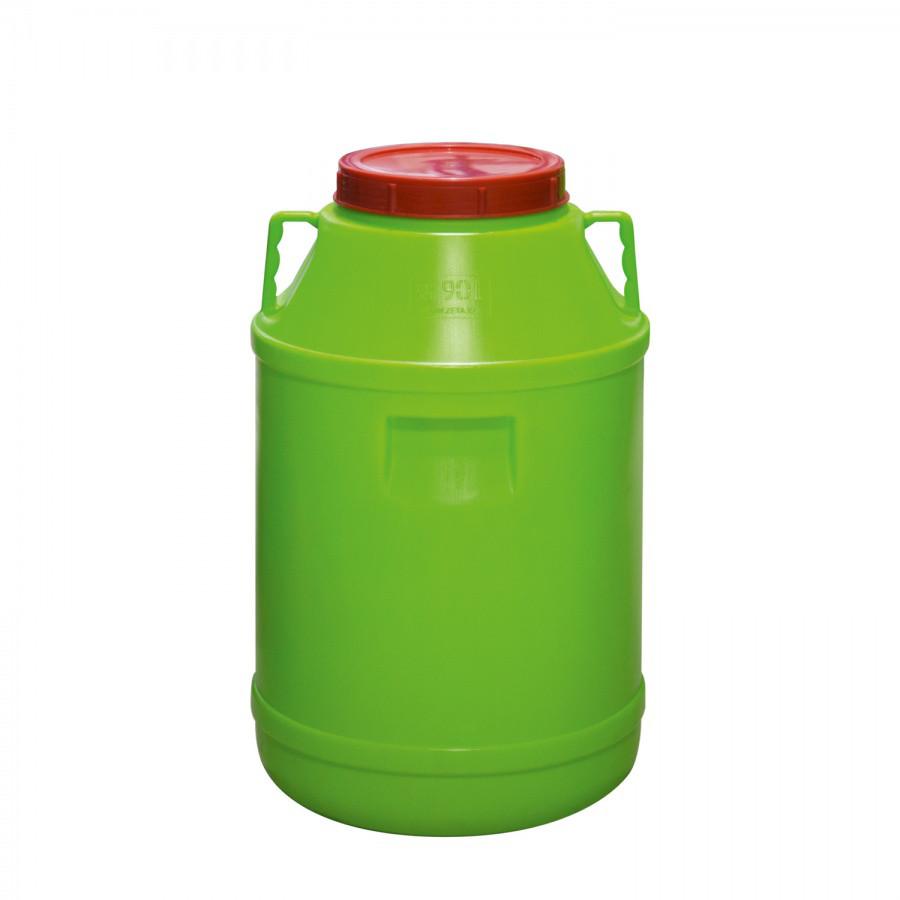Бак с крышкой (90 л.) из пластика