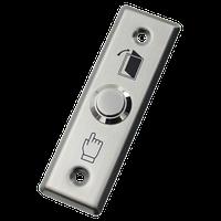 B41L NOVIcam - Металлическая накладная механическая кнопка с Н.Р. Контактами и подсветкой