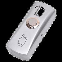 B41 NOVIcam - Металлическая накладная механическая кнопка с Н.Р. контактами