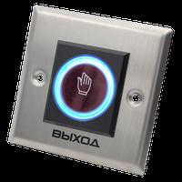 """B50SL NOVIcam - Бесконтактная врезная кнопка """"Выход"""" с контактами Н.Р. и Н.З. и подсветкой"""