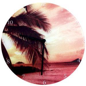 Часы стеклянные для сублимации  d=31 см