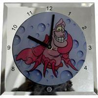 Часы стеклянные для сублимации  200*200*5 мм