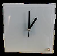 """Часы стеклянные для сублимации """"Квадрат""""  200*200*5 мм"""