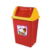 Ведро мусорное с клапаном 23 л из пластика, Зета,  ZETA,