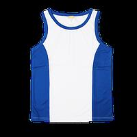 Майка/борцовка синяя размер от S до 3XL