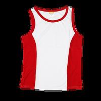 Майка/борцовка красная размер от S до 3XL