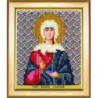 Б-1190 Икона святой блаженной Таисии. Чарівна Мить. Набор для вышивания бисером