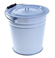 Ведро эмалированное с крышкой 12 литров(без декора)