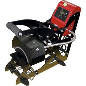 """Термопресс для кепок 7*16,5см с натяжным устройством + автооткрывание Серия PLATINUM """"MaxArmour"""""""