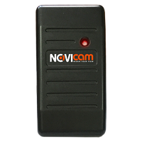 Всепогодный считыватель идентификаторов Em-Marin с выходным интерфейсом Wiegand-26/34 NOVIcam ER12W