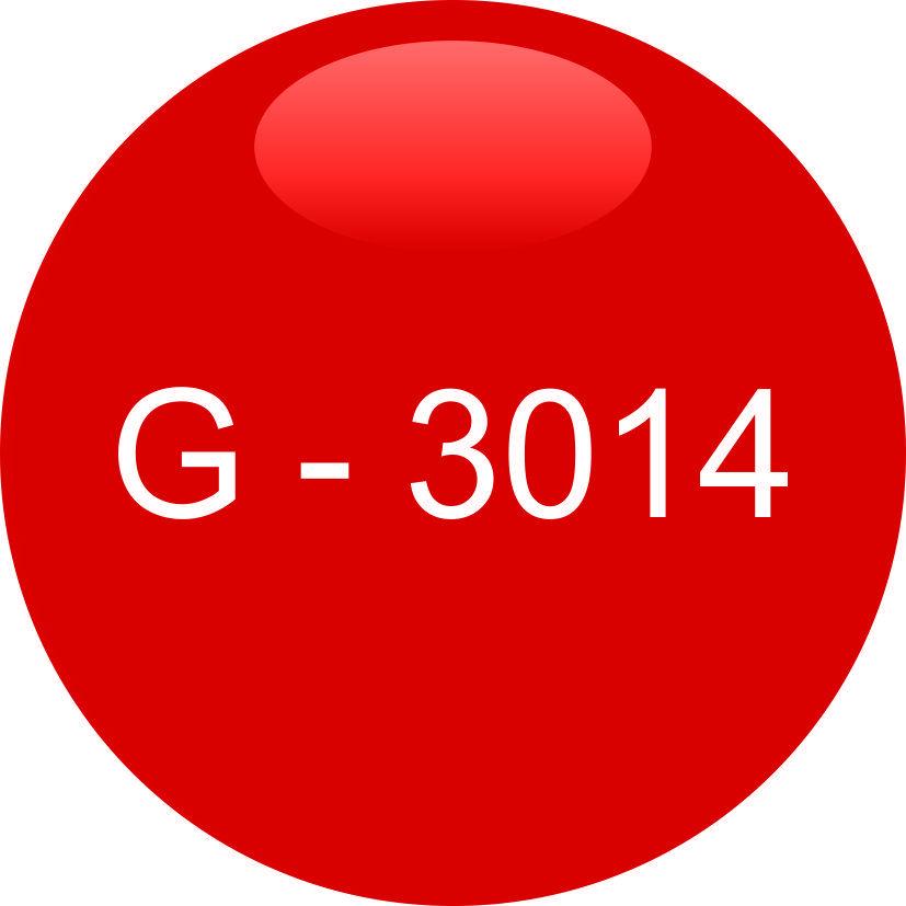 Винил красный G - 3014 (1,22м х 45,7м)
