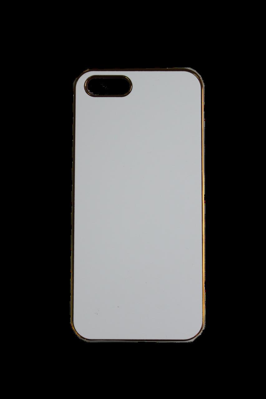 Чехол на Iphone 5-5S Цветные хромированые: Серебро, золото, пурпурный, голубой.