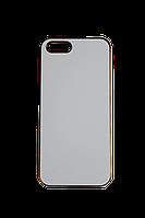 Чехол на Iphone 5-5S Цветные хромированые: Серебро, золото, пурпурный, голубой., фото 1