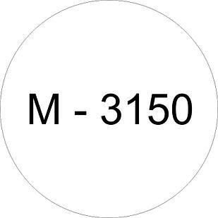 Винил белый M - 3150 (1,22м х 45,7м)