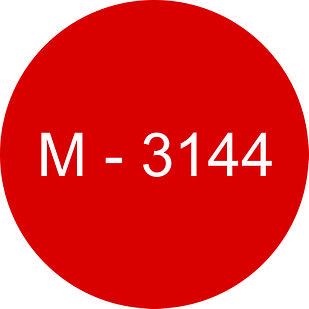 Винил красный М - 3144 (1,22м х 45,7м)