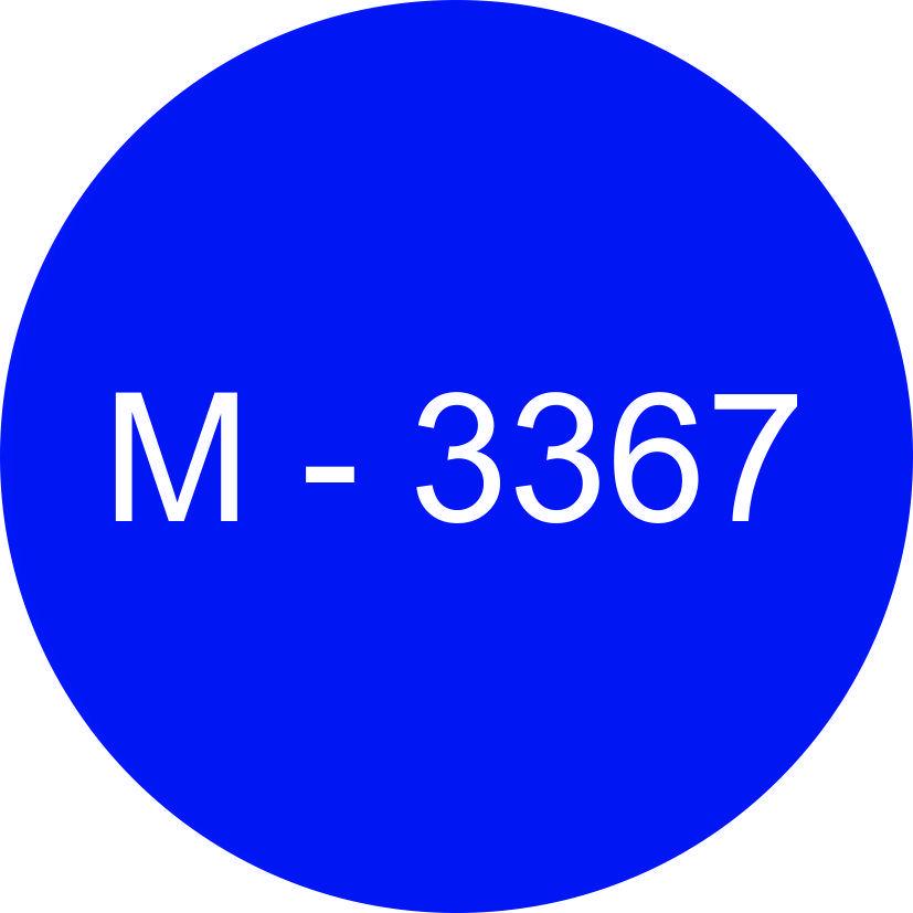 Винил синий М - 3367 (1,22м х 45,7м)