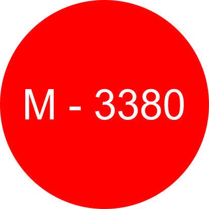 Винил красный М - 3380 (1,22м х 45,7м)