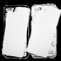 Чехол на Iphone 7-8 Черный,прозрачный.