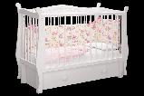 """Кровать детская """"Джулия"""" Можгинский лесокомбинат(белая,слон.кость,шоколад), фото 2"""