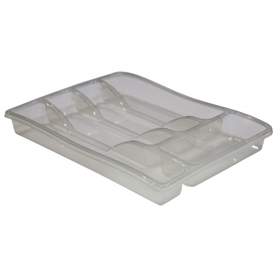 Лоток для столовых приборов Орнелла из пластика, Зета,  ZETA,