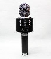 Беспроводной караоке микрофон WS-858 Black