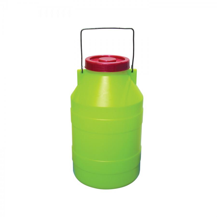 Бидон с крышкой (4 л.) из пластика