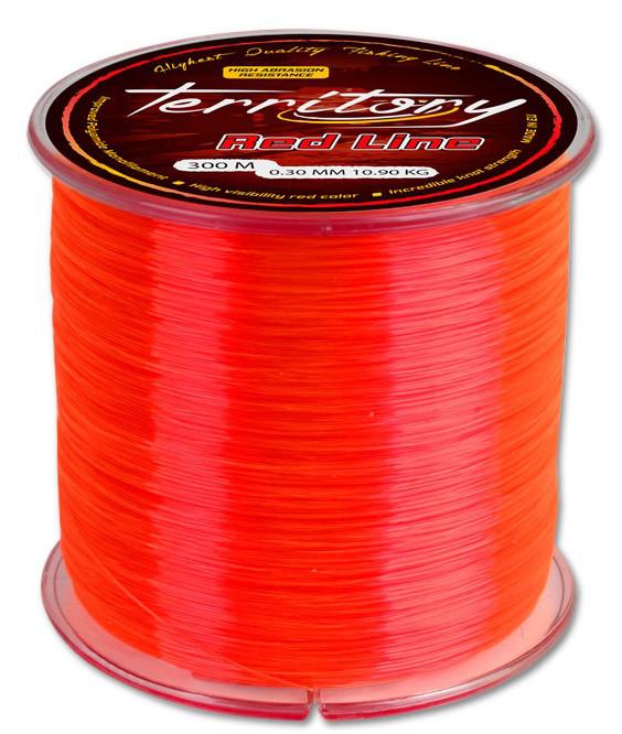 ЛЕСКА строительная 1,0мм*50м (красная)