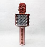 Беспроводной караоке микрофон Pink
