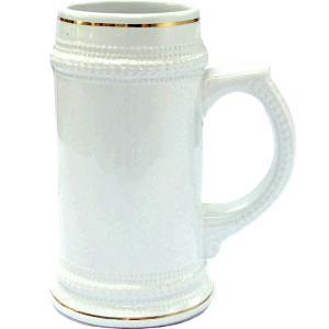 Кружка пивная керамическая (Бавария) 20 oz