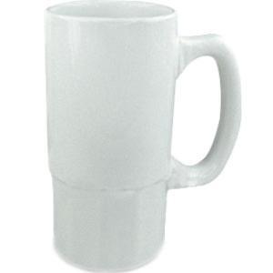 Кружка пивная керамическая (белая) 0,5L