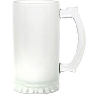 Кружка пивная стеклянная (матовая) 16 oz.