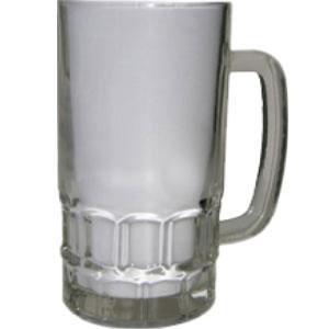 Кружка пивная стеклянная (прозрачная) 0,5L