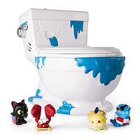 Игрушка Flush Force туалет-коллектор с 4 фигурками-сюрпризами (звук), фото 1