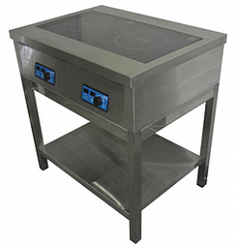Плита индукционная ЦМИ ПИ-2 (820х600х870 мм)