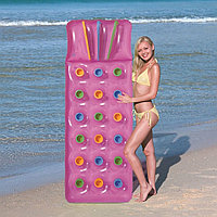 Пляжный надувной матрас 188х71х15см для плавания, Bestway 43014