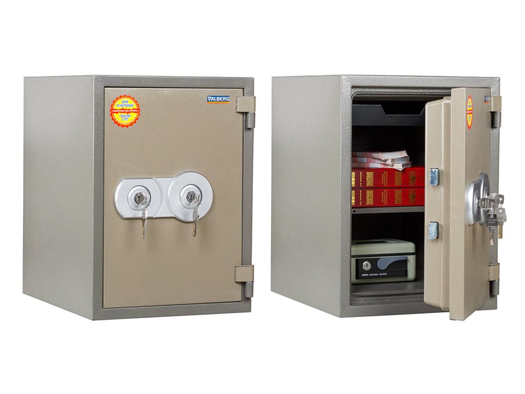 Огнестойкий сейф FRS 49 KL (490х350х430 мм)