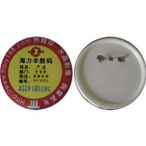 Значок булавка круг  d 44(упаковка 50 штук)
