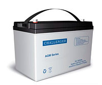 Тяговый аккумулятор Challenger EV12-100S (12В, 100Ач)