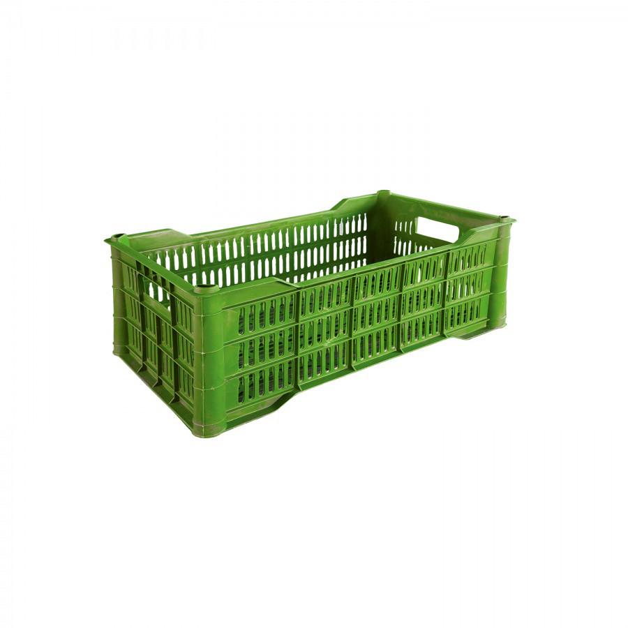 Корзина для овощей цветная (малая) из пластика